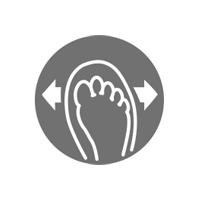 Comfort fit shoe concept
