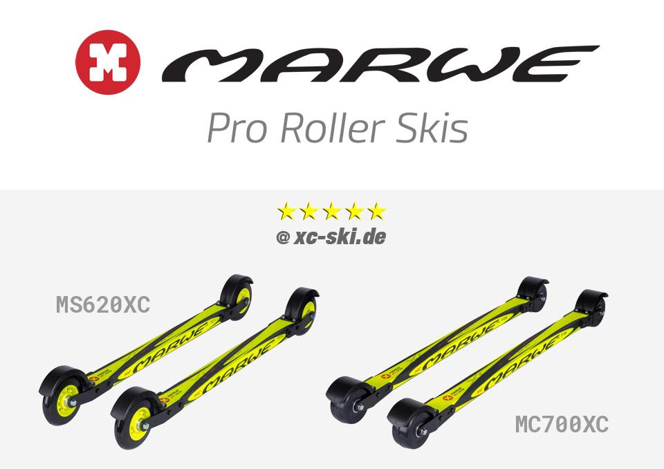 Marwe : ローラースキーの検証結果 (xc-ski.de) と2020-21ラインナップの公開